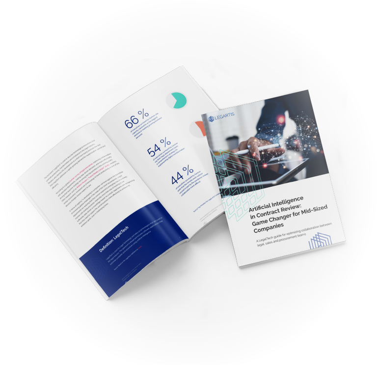 Legartis White Paper - AI in Contract Review EN mockup